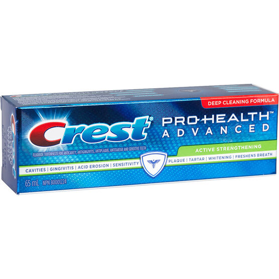 Crest PRO-Health Advanced Toothpaste - Active Strengthening - 65ml