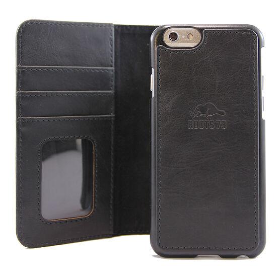 Roots 73 Leather Folio Case - Black - RL21IP6