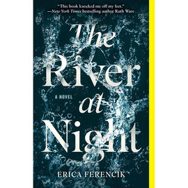 River At Night by Erica Fenrencik