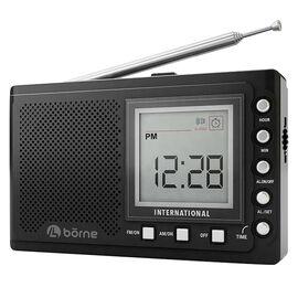 Borne Short Wave Radio - Black - PR1200SW