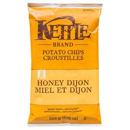 Kettle Brand Potato Chips - Honey Dijon - 220g