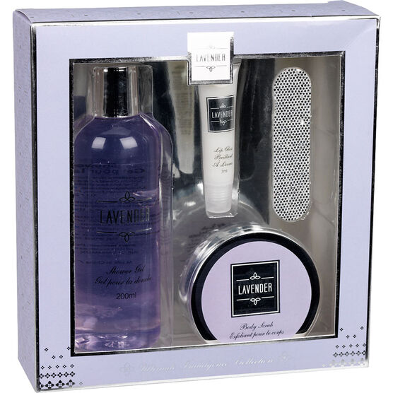 Ultimate Indulgence Collection Beauty Set - Lavender - 4 piece