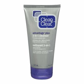 Clean & Clear Advantage Plus 3-in-1 Cleanser - 127ml