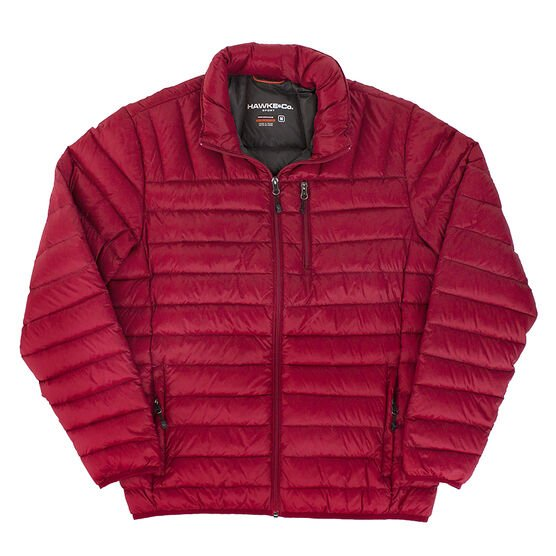 Hawke Co. Packable Down Jacket - Chili - Small/XL