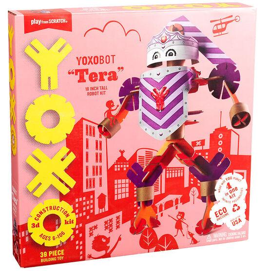 YOXO 3D Construction Kit - Yoxobot Tera