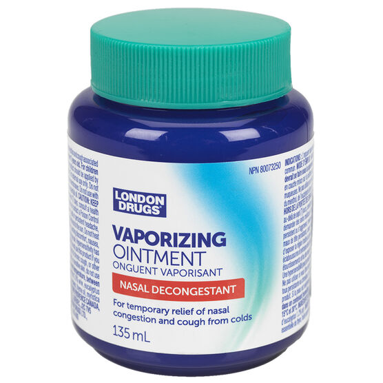 London Drugs Vaporizing Ointment - 135ml