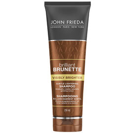John Frieda Brilliant Brunette Visibly Brighter Shampoo - 250ml