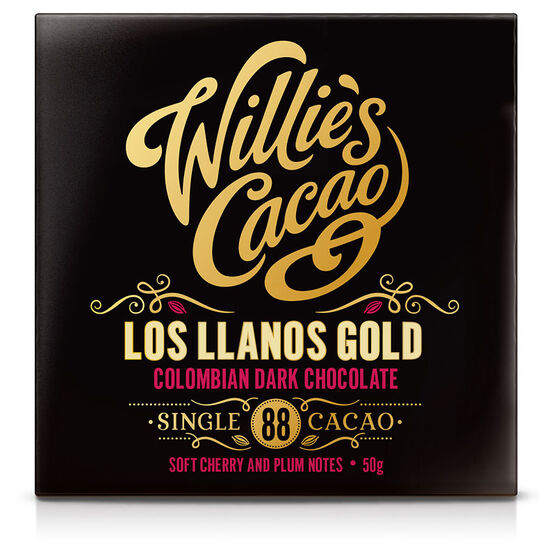 Willie's Cacao Chocolate Bar - Los Llanos Gold - 50g