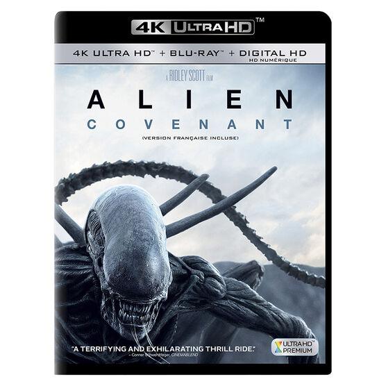 Alien: Covenant - 4K UHD Blu-ray