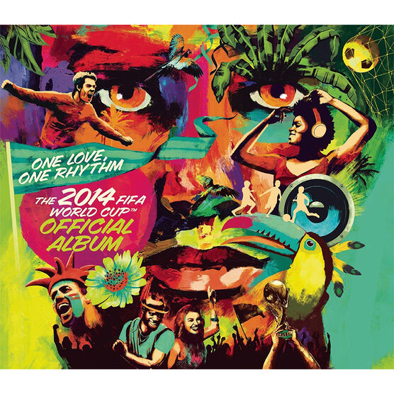 Various Artist - The Official 2014 FIFA World Cup Album - CD
