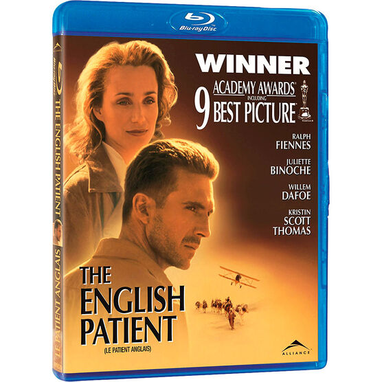 The English Patient - Blu-ray