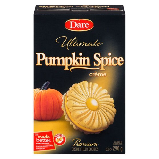 Dare Ultimate Pumpkin Spice Creme Cookies - 290g