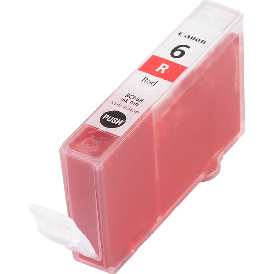 Canon BCI-6R Ink Tank - Red - 8891A003