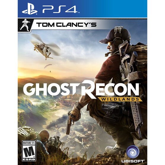 PS4 Tom Clancys Ghost Recon Wildlands - Standard Edition