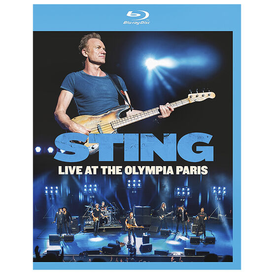 Sting: Live At The Olympia Paris - Blu-ray