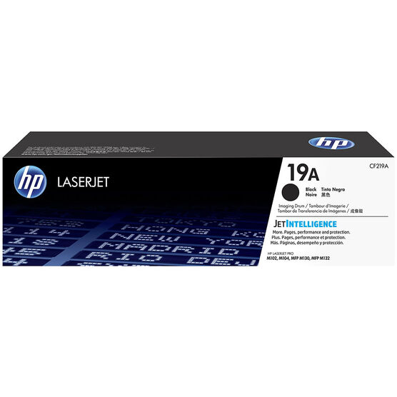 HP 19A Original LaserJet Toner Cartridge - Black - CF219A