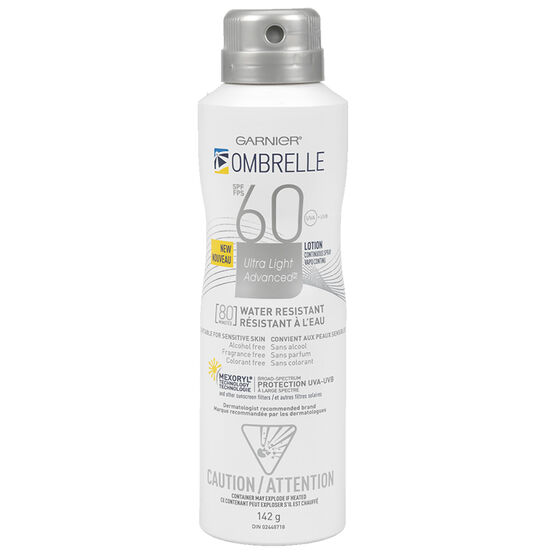 Ombrelle Ultra Light Advanced Spray Sunscreen Lotion - SPF60 - 142g