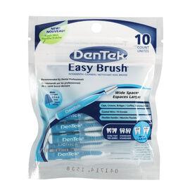 DenTek Easy Brush Interdental Cleaners - Wide Spaces - 10's