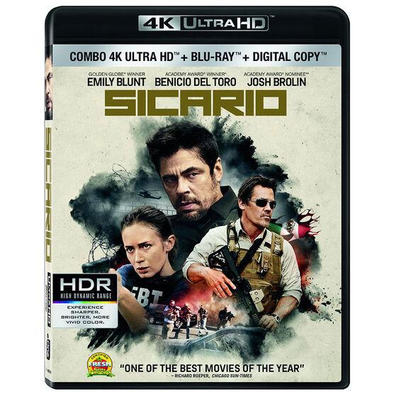 Sicario - 4K UHD Blu-ray