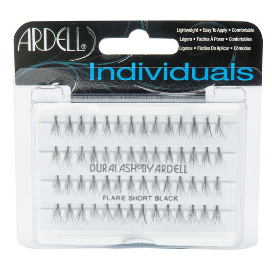 Ardell Fashion Lashes or DuraLash Individual Lashes - DuraLash Knot Free - Black - Short