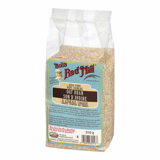 Bob's Red Mill Oat Bran Hot Cereal - 510g