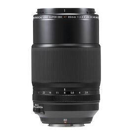 Fujifilm XF 80mm F2.8 R LM OIS WR Macro Lens - Black - 600019131