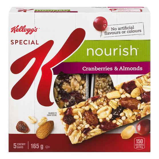 Kellogg's Special K Nourish Bars - Cranberries & Almonds - 5 pack