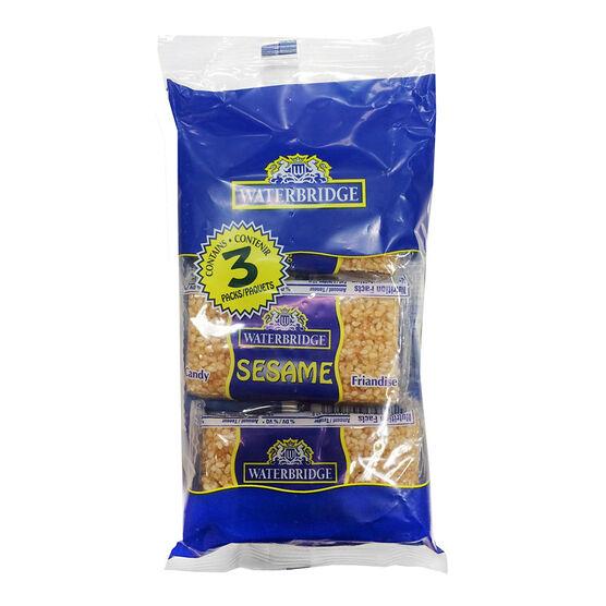 Waterbridge Sesame Snacks - 3 pack/81g