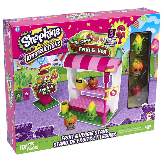 Shopkins Kinstructuctions - Fruit & Veggie Stand
