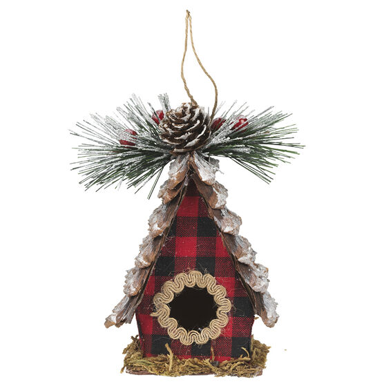 Wild Berries Birdhouse Ornament - 5.5in