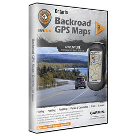 Backroad GPS Maps - Ontario - 02263