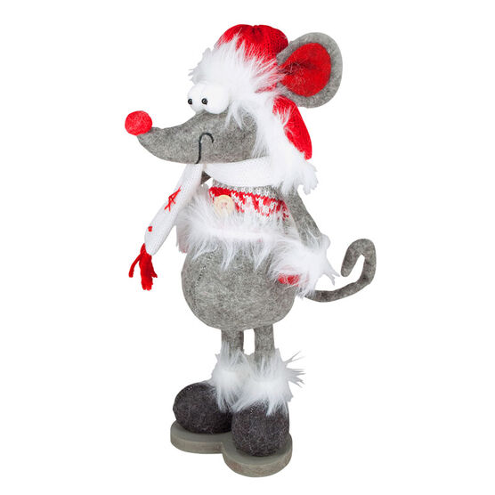 Christmas Standing Mouse with Base - 11in