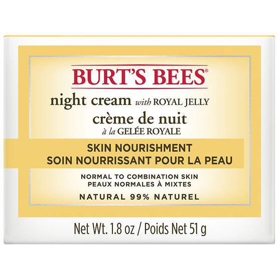 Burt's Bees Skin Nourishment Night Cream - 51g