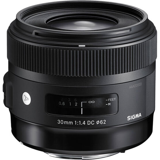 Sigma Art 30mm F1.4 DC HSM Lens for Nikon - A30DCHN