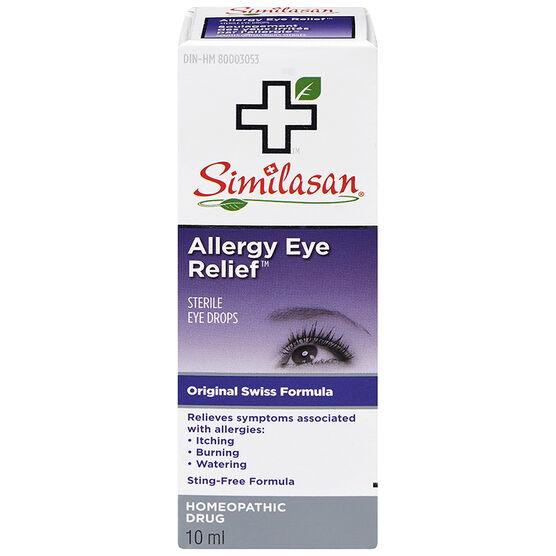 Similasan Allergy Eye Relief Eye Drops - 10ml