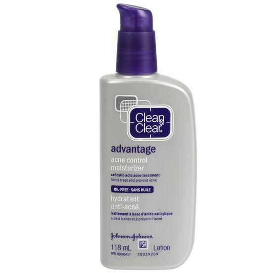 Clean & Clear Advantage Acne Control Moisturizer - 118ml