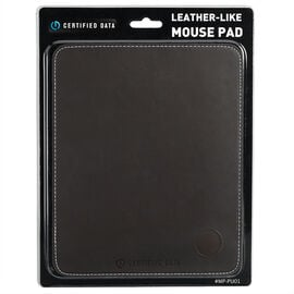 Certified Data Leather-Like Mousepad - MP-PU01