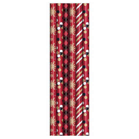 Plus Mark RB Pattern Wrap - 30 x 240in - Assorted