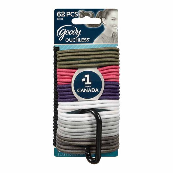 Goody Ouchless Elastics - 62's
