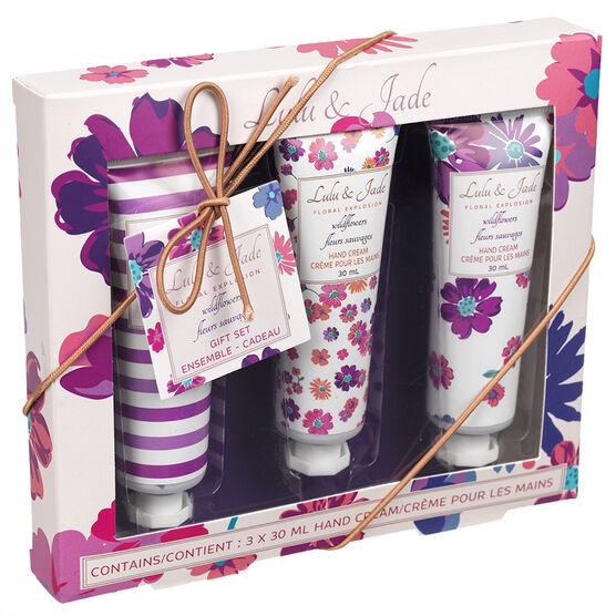 Lulu & Jade Hand Cream Set - 3 x 30ml