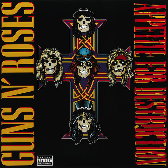 Guns N' Roses - Appetite for Destruction - Vinyl