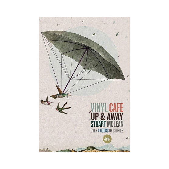 Stuart McLean - Vinyl Cafe - Up & Away - 4 CDs