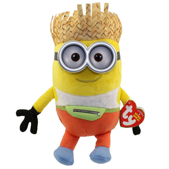 TY Despicable Me Beanie Baby - Tourist Minion Dave