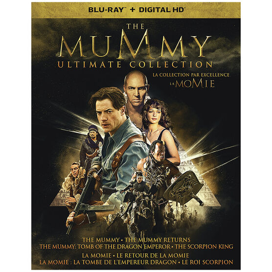 The Mummy: Ultimate Collection - Blu-ray