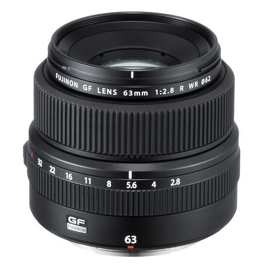 Fuji GF 63mm F2.8 R WR Lens - Black - 600018291