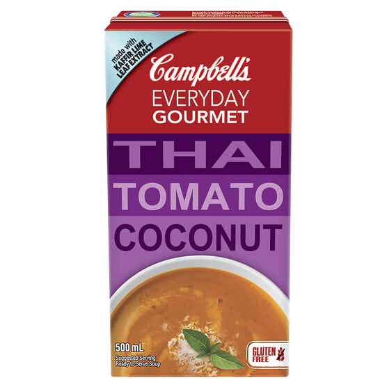 Campbell's Gourmet Thai Tomato Coconut Soup - 500ml