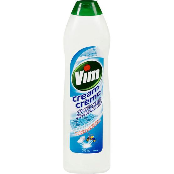 Vim Cream Cleanser - Fresh Scent - 500ml