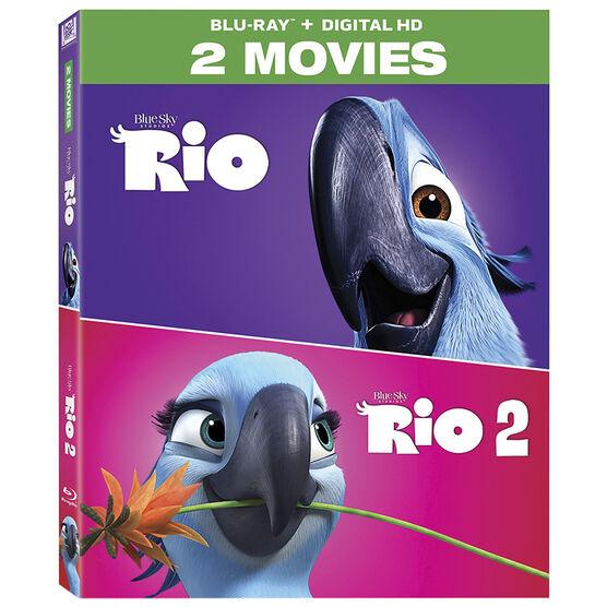 Rio 2-Movie Collection - Blu-ray