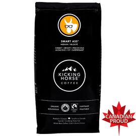 Kicking Horse Coffee Smart Ass - Medium Roast - Whole Bean - 454g
