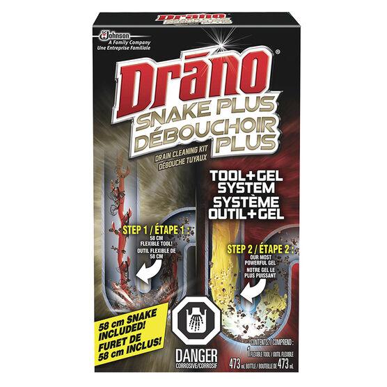 Drano Snake Plus Drain Cleaning Kit - 473 ml
